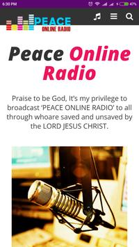Peace Online Radio apk screenshot
