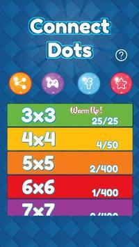 Connect Dots Colour Lines poster