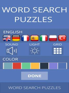Word Search Puzzles apk screenshot