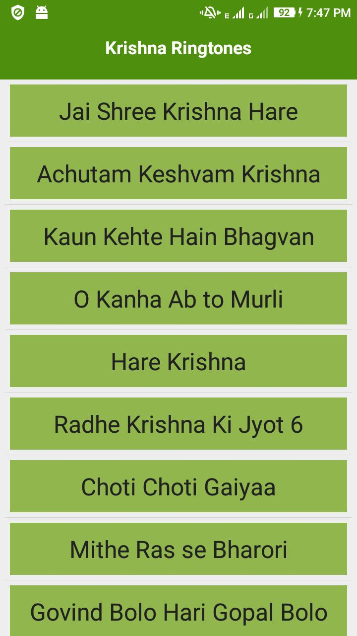 Lord Krishna Ringtones Audio for Android - APK Download