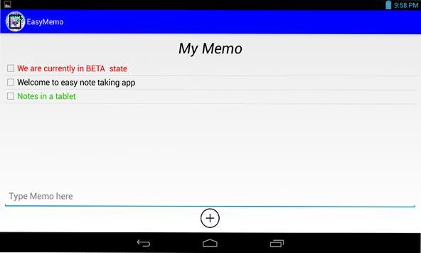 EasyMemo screenshot 5