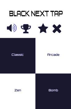 Black Next Tap poster