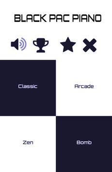 Black Pac Piano (FREE) apk screenshot