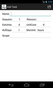 mini Project Manager screenshot 3