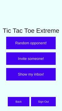 Tic Tac Toe Extreme screenshot 1