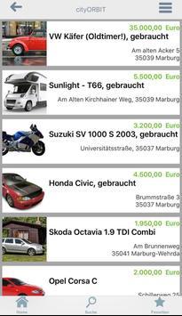 city ORBIT Marburg screenshot 2