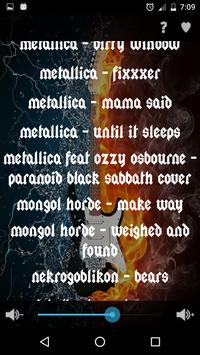 Metal Music Ringtones 100+ apk screenshot
