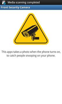 Front Security Camera poster
