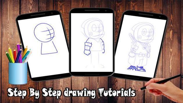 Learn to draw cartoons hatori poster