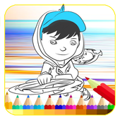 coloring book Bobooy icon