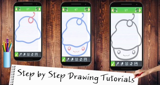Learn To Drawing Kawaai screenshot 4