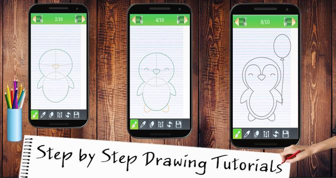 Learn To Drawing Kawaai screenshot 5