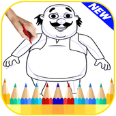 Learn How To Drawing Motu Patl icon