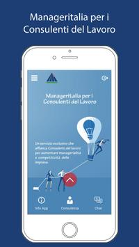 Cons.Lavoro by Manageritalia poster