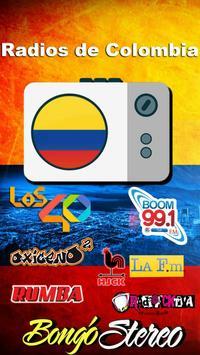 Radios de Colombia poster