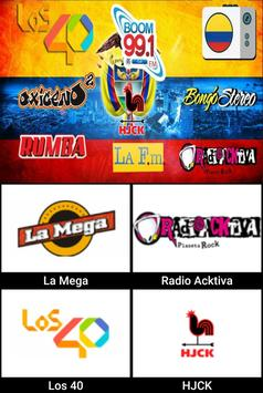 Radios de Colombia apk screenshot