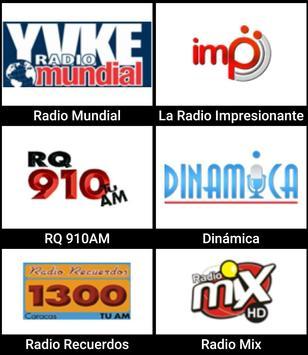 Radios de Venezuela apk screenshot