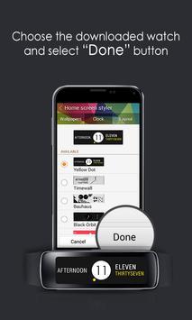 Yellow Dot Clock apk screenshot