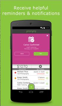Prompt.ly - Schedule promptly! apk screenshot