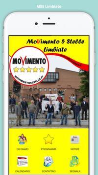 M5S Limbiate poster