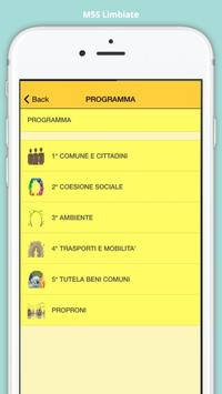 M5S Limbiate screenshot 2