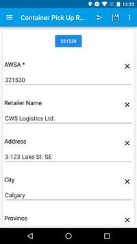 CWS Logistics screenshot 2