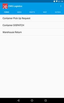 CWS Logistics screenshot 6