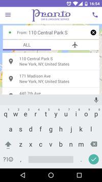 Pronto Car Service apk screenshot