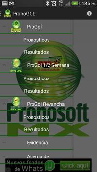 PronoGol screenshot 2