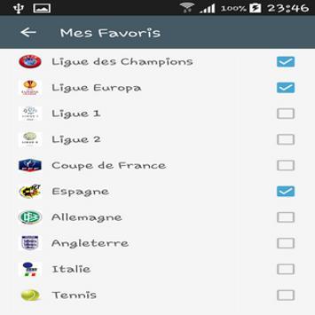 Pronos Liga screenshot 25