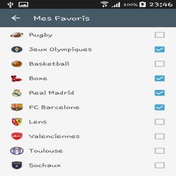 Pronos Liga screenshot 4