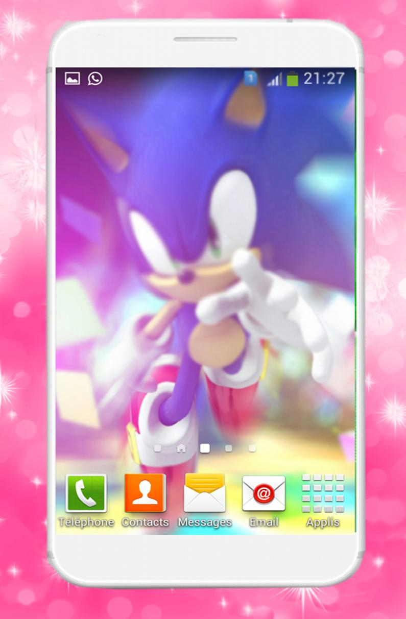 Wallpaper HD For Sonic Games poster