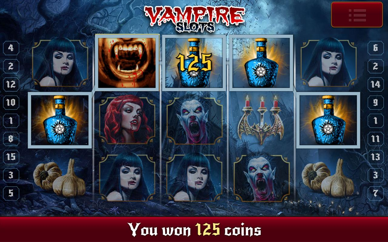 Slot machine vampiri