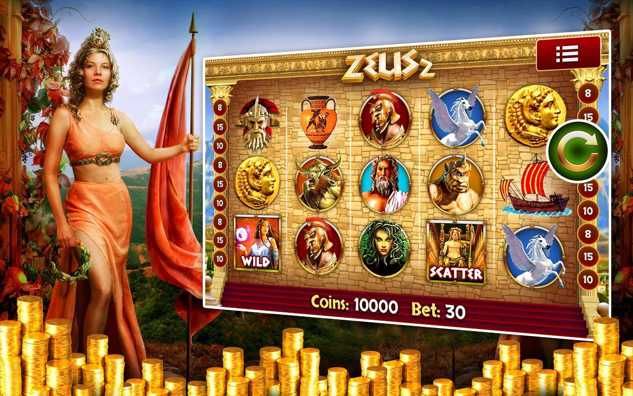 Zeus 2 Slot Machine Free