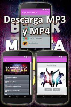 Bajar Musica En Mp3 Y Mp4 A Mi Celular Gratis Guia poster