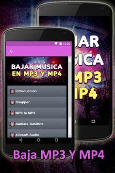 Bajar Musica En Mp3 Y Mp4 A Mi Celular Gratis Guia screenshot 3