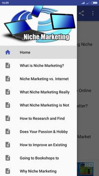 Niche Marketing poster