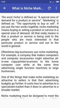 Niche Marketing apk screenshot
