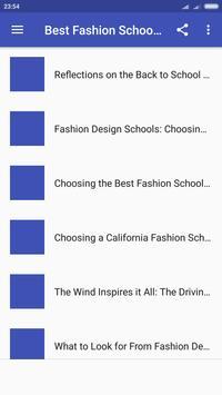 Best Fashion School In California School Style