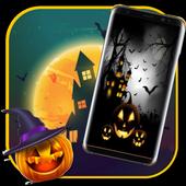 HD halloween pumpkin live wallpaper icon