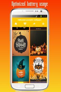 HD halloween pumpkin live wallpaper screenshot 5