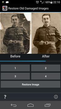 Restore Old Damaged Images apk screenshot