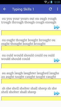 Typing skills screenshot 2