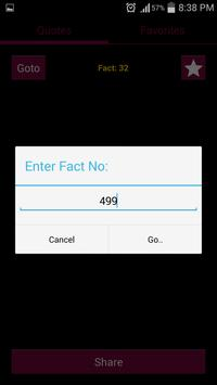 Unlimited Facts! apk screenshot