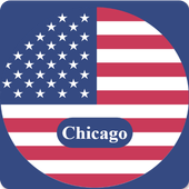 Chicago Guide, Events, Map, Weather icon