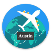 Austin Guide, Events, Map, Weather icon