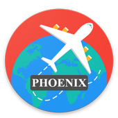 Phoenix Guide, Events, Map, Weather icon