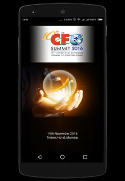 CFO Summit poster