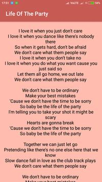 Shawn Mendes Lyrics Pro screenshot 7