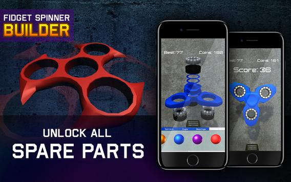 Fidget Spinner Builder apk screenshot